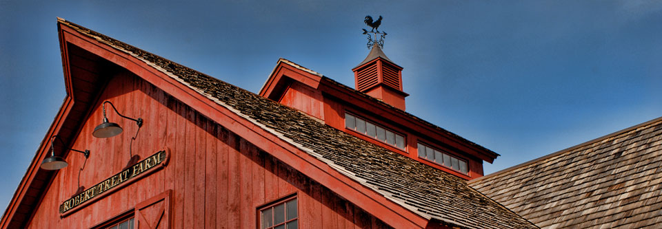 robert treat farm in milford ct red barn